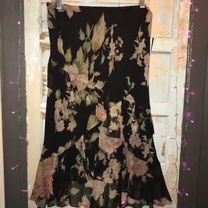 Lauren Ralph Lauren Petite floral skirt